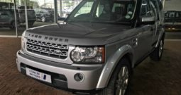 2012 LAND ROVER DISCOVERY 4 3.0 TD/SD V6 SE for R289995